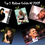 Top 5 Riskiest Celebrities Of 2009