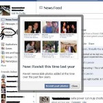 """""""New: Revisit this time last year pics"""" New feature added to facebook"""