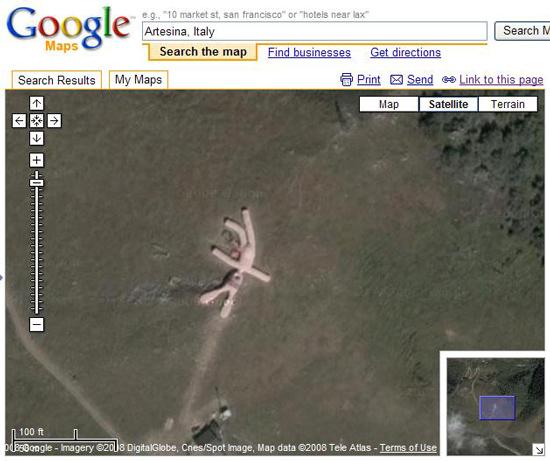 20 strangest sights in google earth techpaparazzi