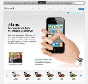 ihand-iphone-4
