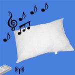 Music Pillow for your iPod and its Wireless.
