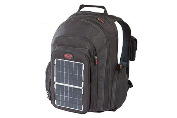 Green Solar Backpack