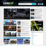 GameUp Magazine3 WordPress Theme Giveaway.