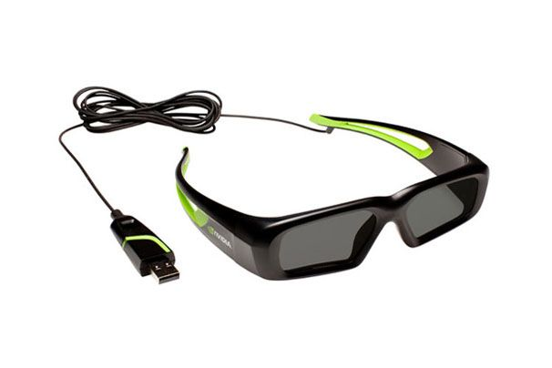 nvidia Wired 3d Glasses