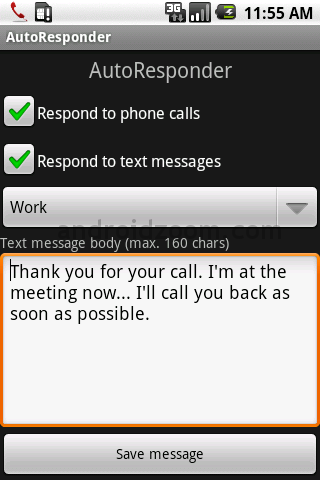 Automatic SMS and Miss calls Reply Apps