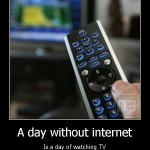 A Day Without the Internet (gasp!!)