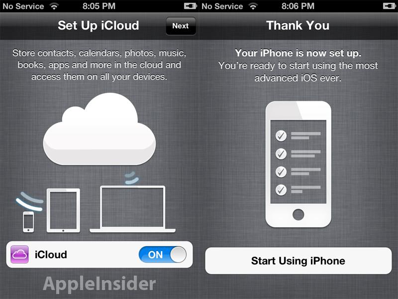 iOS5 iCloud Update Problem