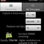 Create Time-Lapse Videos Using Android Smartphone