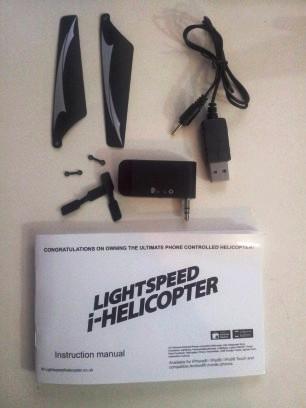 iHelicopter inbox item