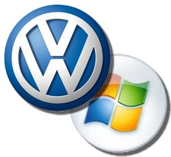 Microsoft Volkswagen In-Car server