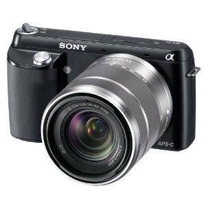 Sony NEX F3KB Compact System Camera
