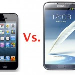 iPhone 5 vs. Samsung Galaxy Note 2 Comparison!