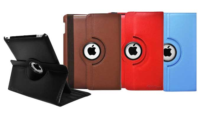 Ionic Rotating Leather iPad Mini Case and Stand