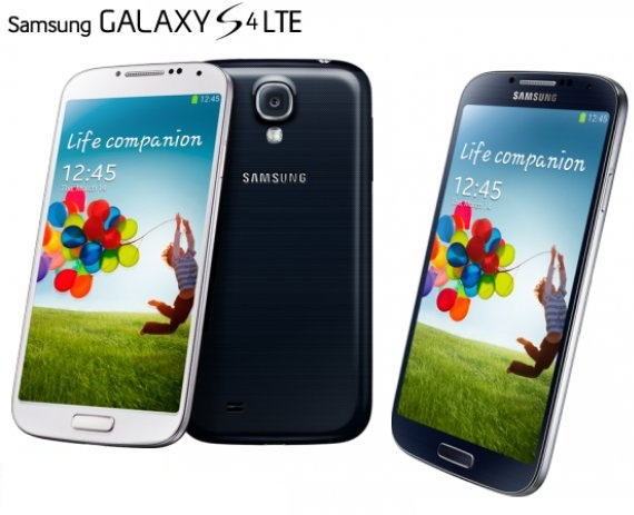 Galaxy S4 with LTE Advanced 4G
