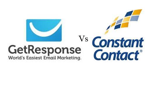 GetResponse Vs Constant Contact